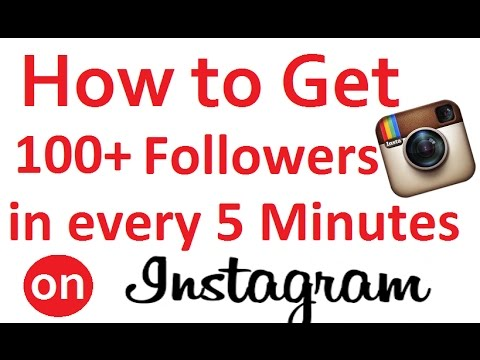 How to get 100+ followers on Instgram in every 5 minutes | Easy and free method