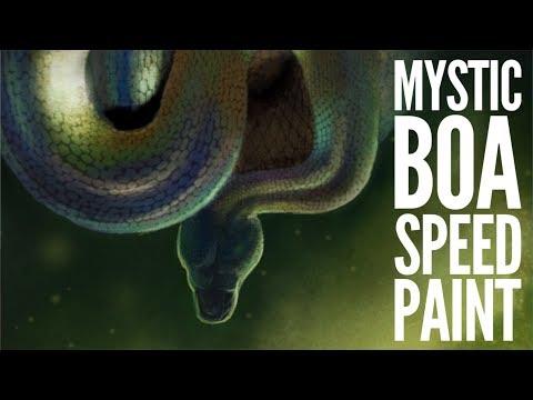 Mystic Snake SpeedPaint