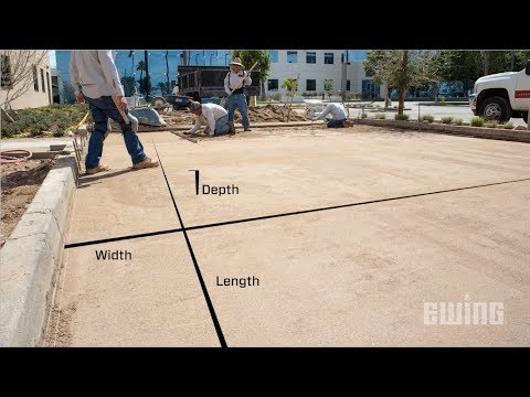 Calculating Bulk Landscape Material Needs - Cubic Yards