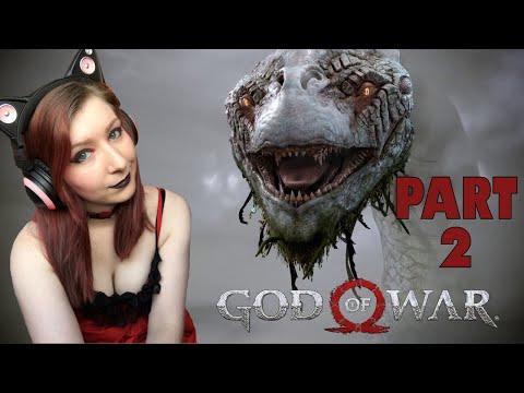 THE WORLD SERPENT!  - GOD OF WAR PS4 PRO Gameplay Walkthrough Part 2