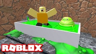 ESCAPE THE ROBLOX SLIME