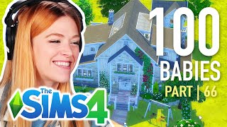 Single Girl Picks A Fan's House For Her 100 Babies In The Sims 4 | Part 66