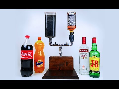 DIY HOME DECOR! #25 Easy Crafts Ideas - DIY Handmade Alcohol Mixer Dispenser