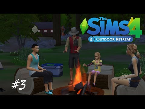 The Sims 4: Outdoor Retreat P3 - Hiking, more rare insects & fishing.