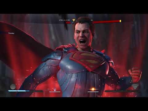 Injustice 2 Atom vs Superman