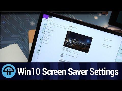Screen Saver Settings in Windows 10