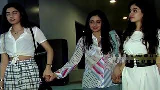 Sridevi की बेटी Jhanvi Kapoor जब ऐसे कपड़े पहनकर घूम रही थी