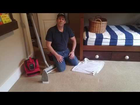 How to get an indentation out of the carpet
