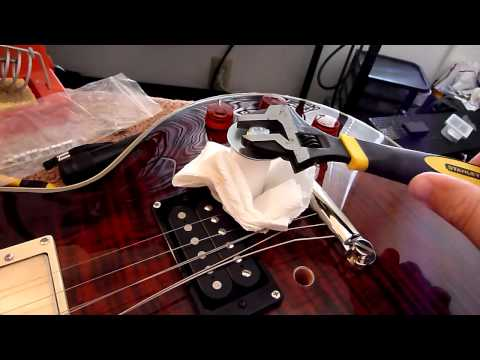 A Better Way To Remove Bushings From A Les Paul Tune-O-Matic Style Guitar Bridge