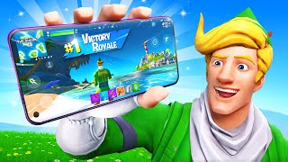 Becoming A Fortnite Mobile Player…