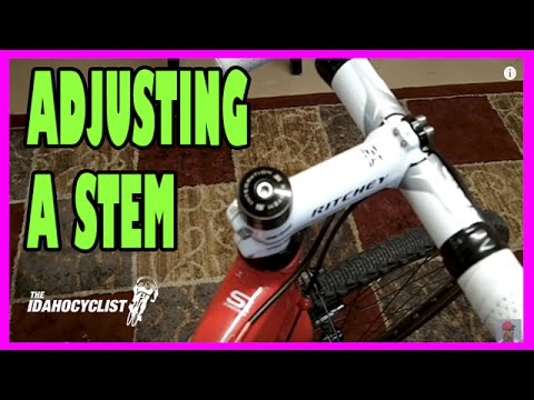 How To Adjust A Bike Stem & Handle Bars