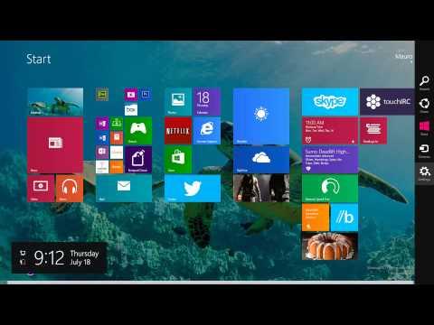 How to set desktop wallpaper as the Start screen background in Windows 8.1