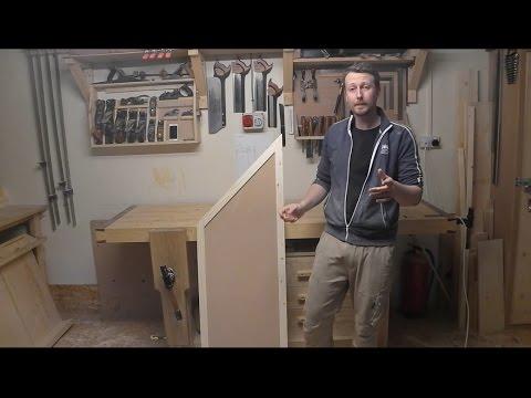 Angled Panel Door