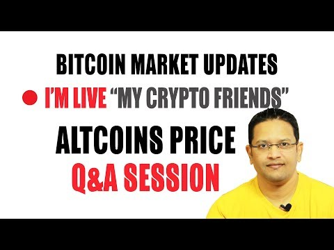 Bitcoin Market Update. LIVE Altcoins Price Discussion using personal TRADING BOT & FREE ETH GIVEAWAY