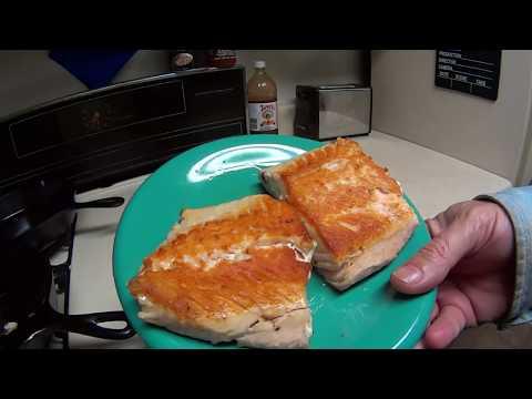 Cast Iron Skillet Salmon Recipe