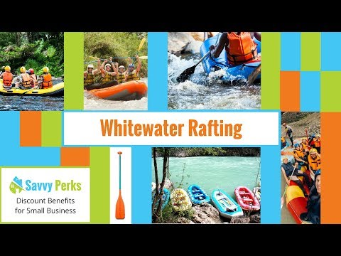 Whitewater Rafting with Savvy Perks Discount Coupons