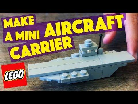 MAKE a LEGO Mini Aircraft Carrier