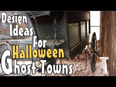 Halloween Prop Inspirations & Ideas - Old Hearse & Western Wagons