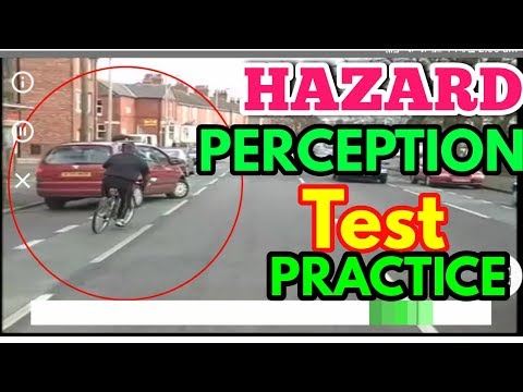 Hazard  Perception Test  Practice   2018