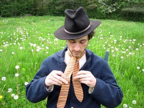 The Reenactor Studio - How to Tie a Cravat