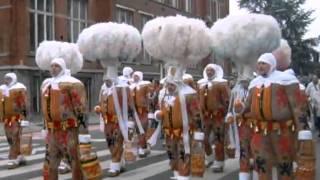 Carnaval Halle 2011: De Gilles & Paysannes van Sint-Rochus