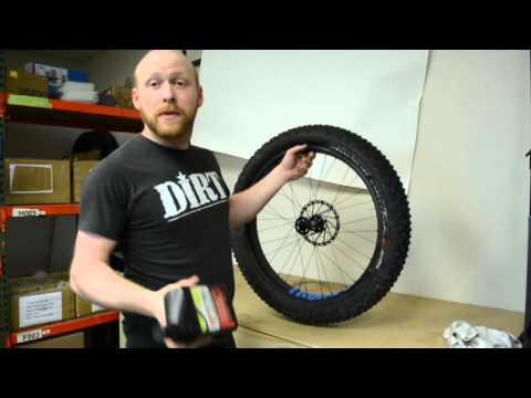 Thumper Tubeless Setup, Non UST Tires