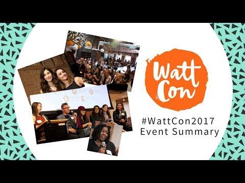 WattCon 2017 - An Official Wattpad Writer Event