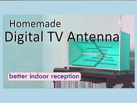 Homemade Digital TV antenna - better indoor reception