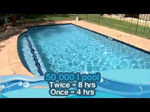 How long should I run my pool pump