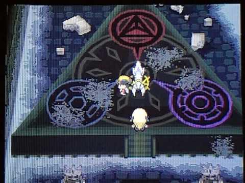 Pokemon Heart Gold Walkthrough *Special Episode*- Arceus & the Shinto Ruins