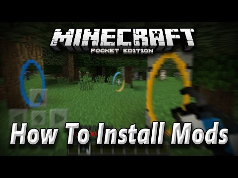 [0.13.0+] How To Install Mods In Minecraft PE [Pocket Edition] [Android]
