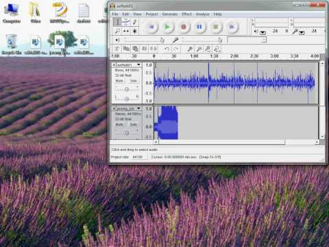 Combine Two Audio Files Using Audacity
