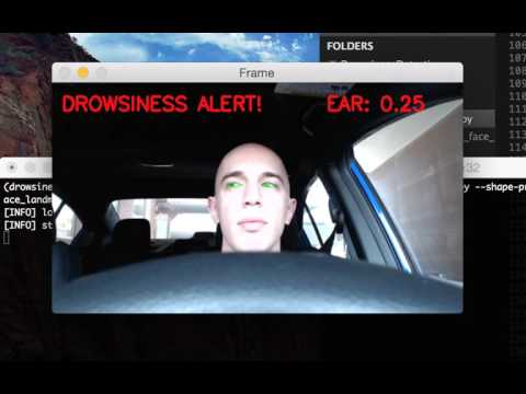 Driver Drowsiness Detection with OpenCV