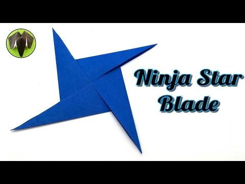 Ninja Star Blade Shuriken - DIY Tutorial by Paper Folds