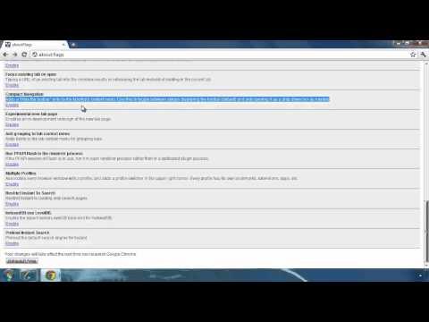Auto hide toolbar & address bar in Google Chrome