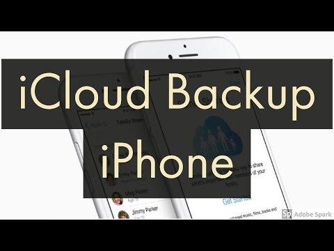iCloud Backup on iPhone