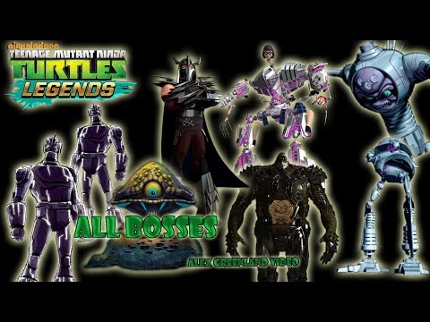 TMNT Legends - All Bosses