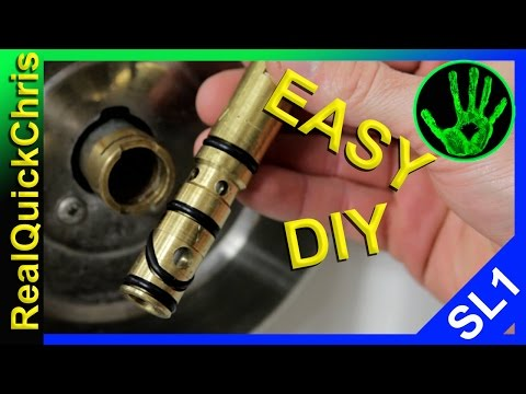 DIY plumbing tips fix a leaky or stuck shower faucet handle