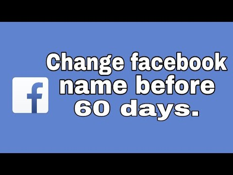 How to change Fb name before 60 days || Mr Wise by Rohan.
