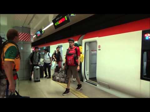 【Narita International Airport#5】Go to Shinjuku by Narita Express