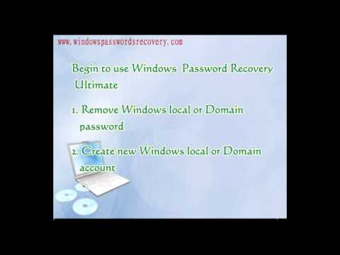 Best way to remove administrator password on Windows 7 with USB