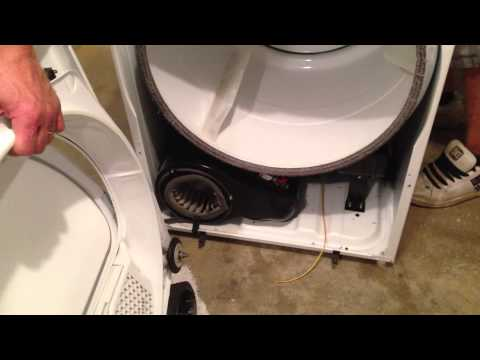 How-to replace a broken dryer belt on a Whirlpool Dryer. By How-to Bob