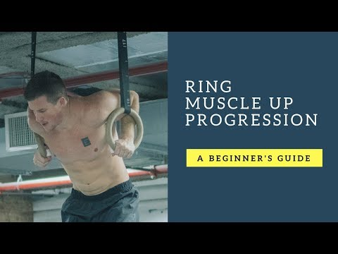 How to Do Your First Ring Muscle Up | Ring Muscle Up Progressions for CrossFit and Fitness