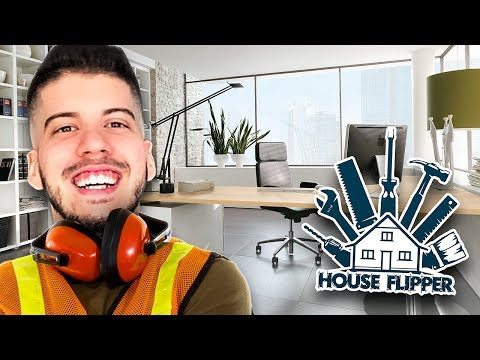 ULTIMATE OFFICE SETUP TOUR!! (House Flipper)