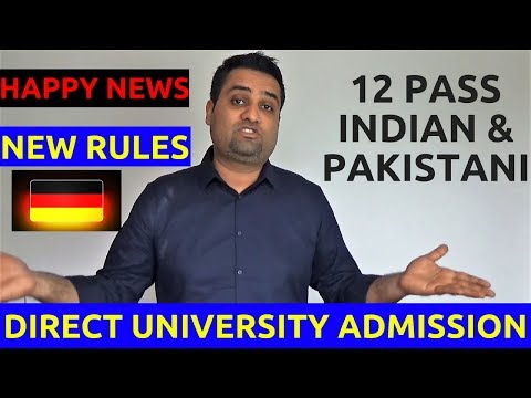 12 Pass Pakistani and Indians New Rules for Direct University Admission