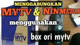 Cara Setting MYTV & NINMEDIA - Fraskoo F9 Combo