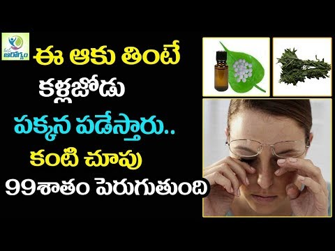 Increase Eye sight Naturally Forever - Mana Arogyam Telugu health Tips
