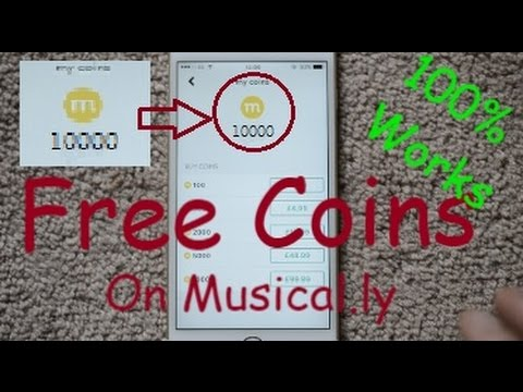 How To Get Free Coins On Musically / Lively