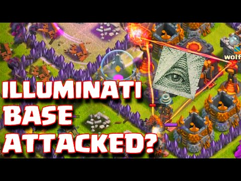 Clash Of Clans Illuminati Confirmed Base Attacked | Popular Clash Of Clans Base Attacks