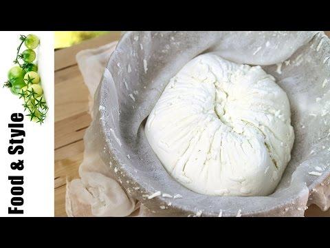 Homemade Fresh Goat Cheese